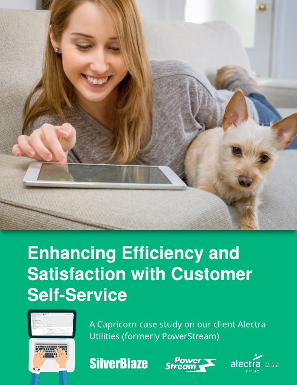 Enhancing efficiency with customer self-service