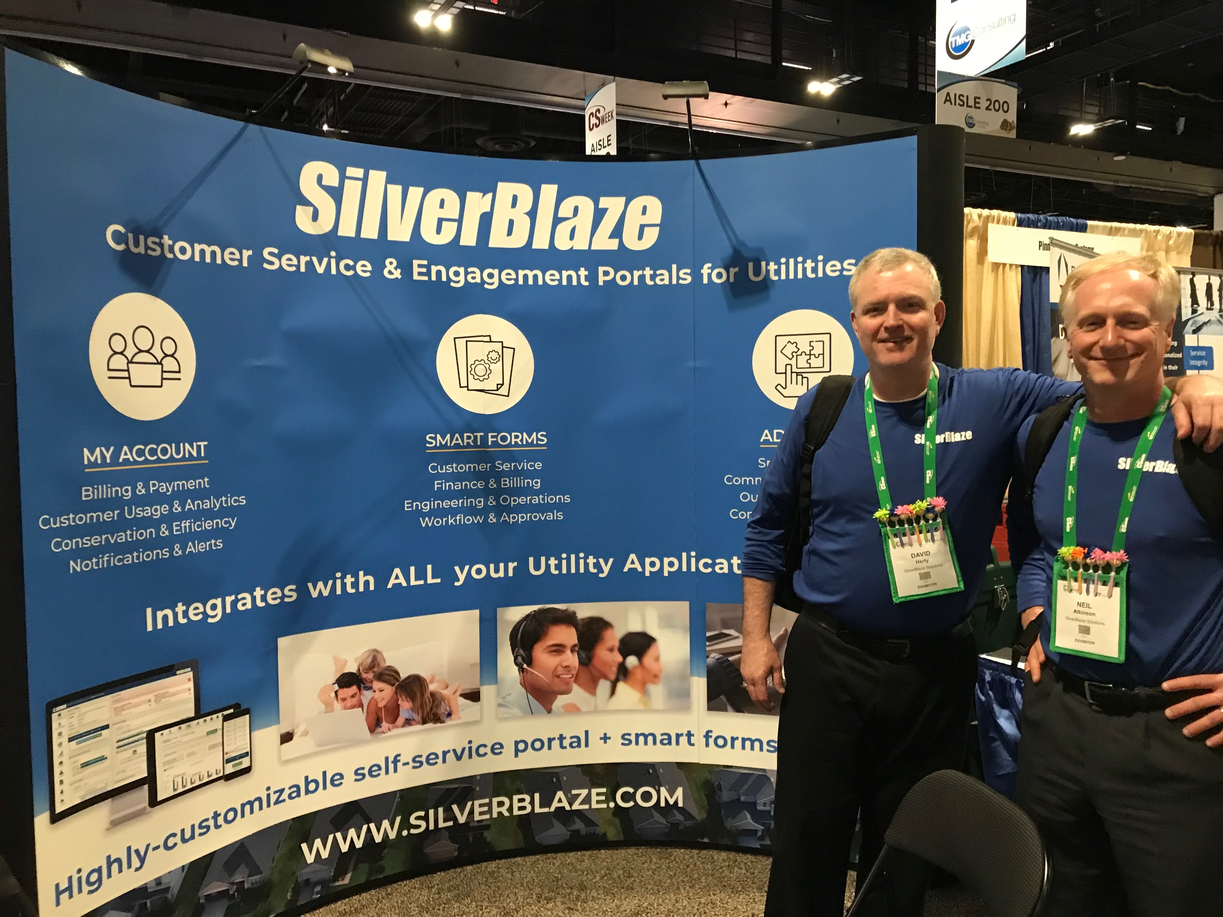 The silverBlaze stand