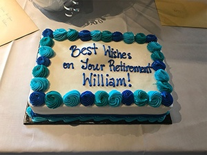 William's Retirement Party